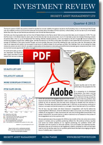 December 2015 Investment Review