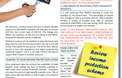 How Benefit Changes Could Affect Your Income Protection Policies