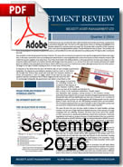 Investment Review September 2016