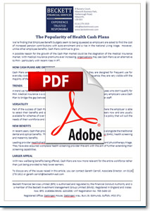The Popularity of Health Cash Plans
