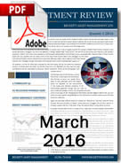 Investment Review March 2016