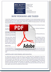 How pensions are taxed download
