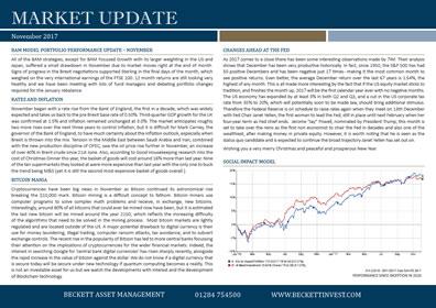November 2017 Market-Update